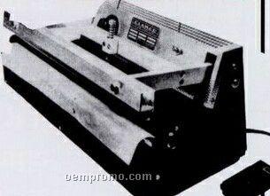 Model W-51-16 Ma Foot Pedal Operated Trim Seal Machine