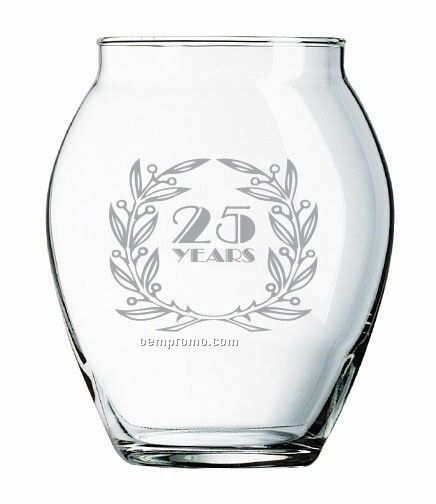 24 Oz. Balmoral Mini-jar With Lid