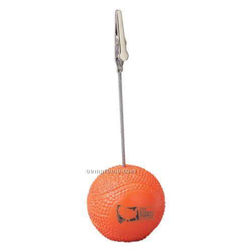 Basketball Memo Holder
