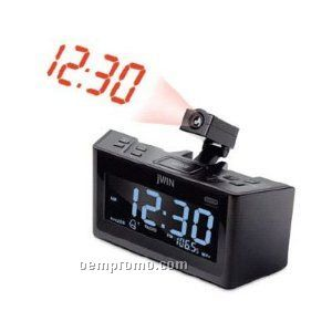 jwin dual alarm clock with projection and am fm radio china wholesale jwin dual alarm clock with. Black Bedroom Furniture Sets. Home Design Ideas