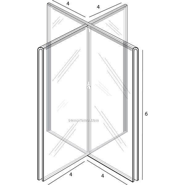 Eight Sided Tent For 4'' W X 6'' H Inserts