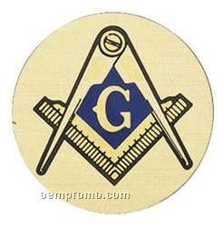 """Mylar - 2"""" Masonic"""