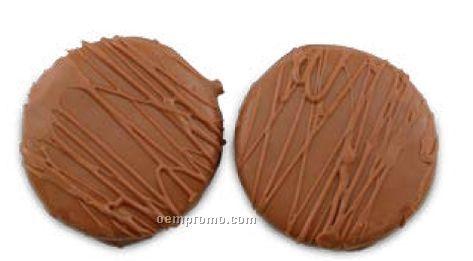 2 Piece Chocolate Dipped Oreo Bag - Milk Chocolate