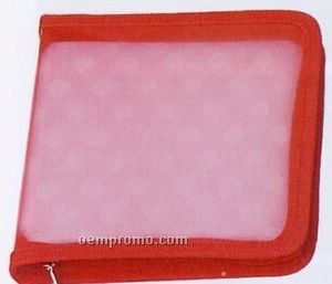24 Piece CD Holder - Red