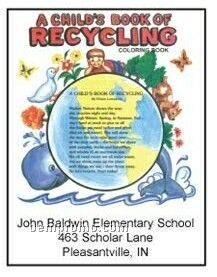 Child's Book Of Recycling Activity Coloring Book