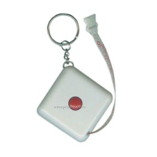 Measuring Tape Keychain