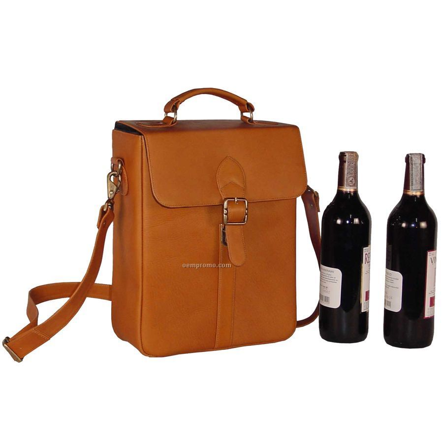 Deluxe Double Wine Bottle Carrier