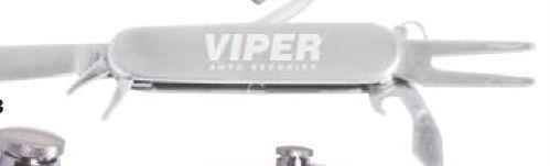 Golfer's Stainless Steel 7-function Knife/ Divot Fixer