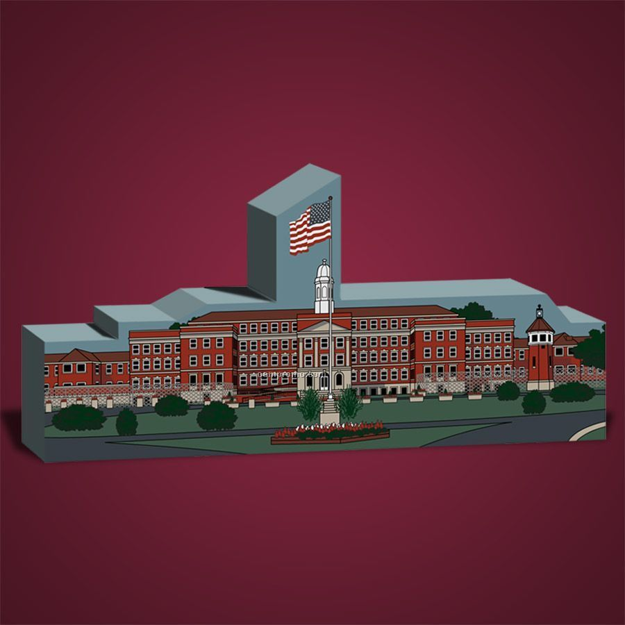 Less Than 10 Square Inch Correctional Facilities Wooden Replica