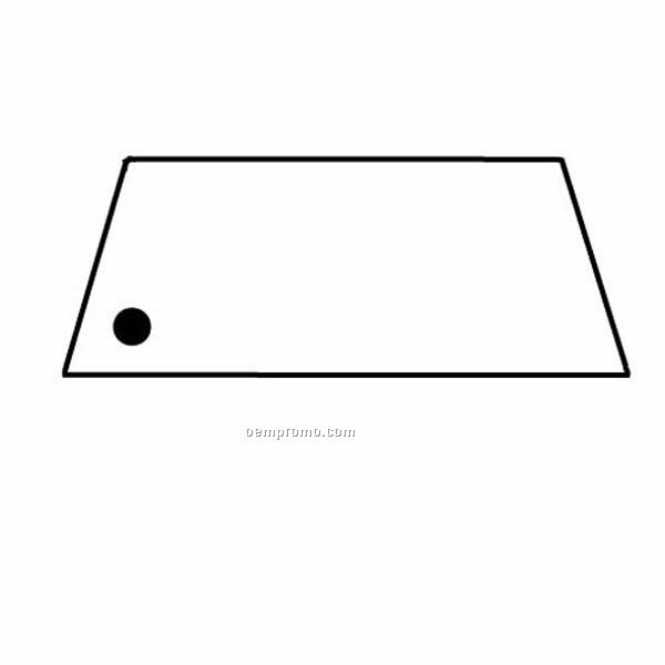Stock Shape Collection Trapezoid 3 Key Tag
