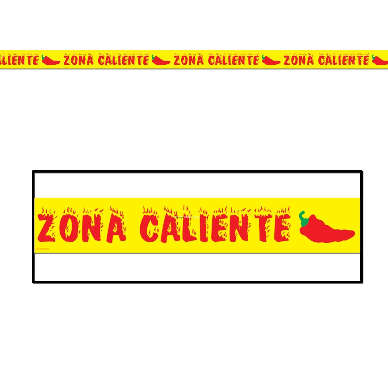 """Zona Caliente"" Hot Zone Party Tape"