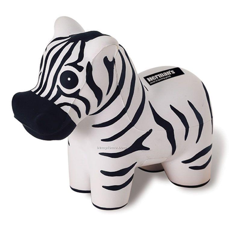 Zebra Squeeze Toy