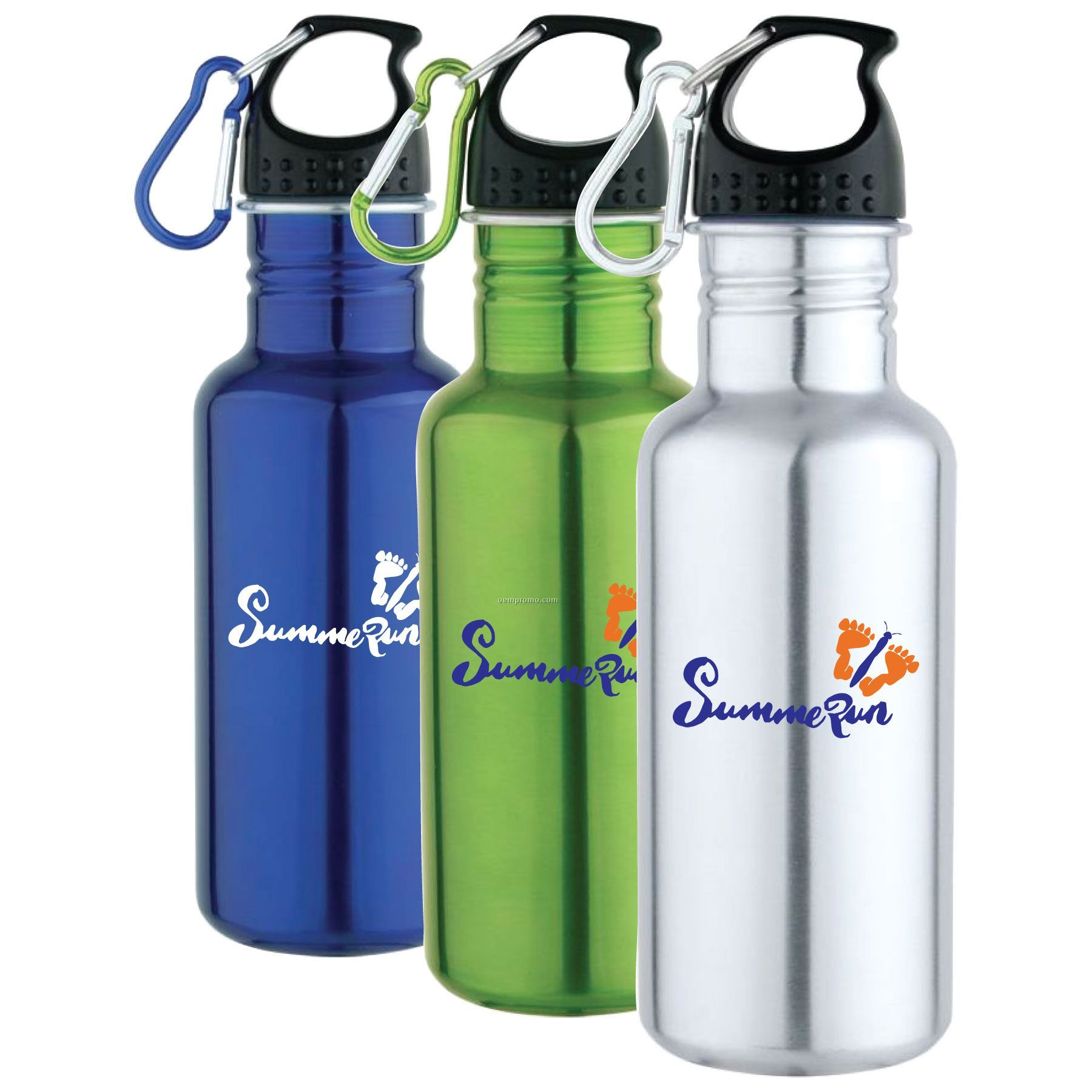 25 Oz Stainless Steel Wide Mouth Sports Bottle