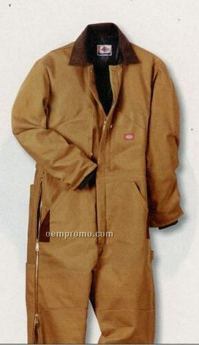 Dickies Premium Insulated Coverall (Brown Duck)