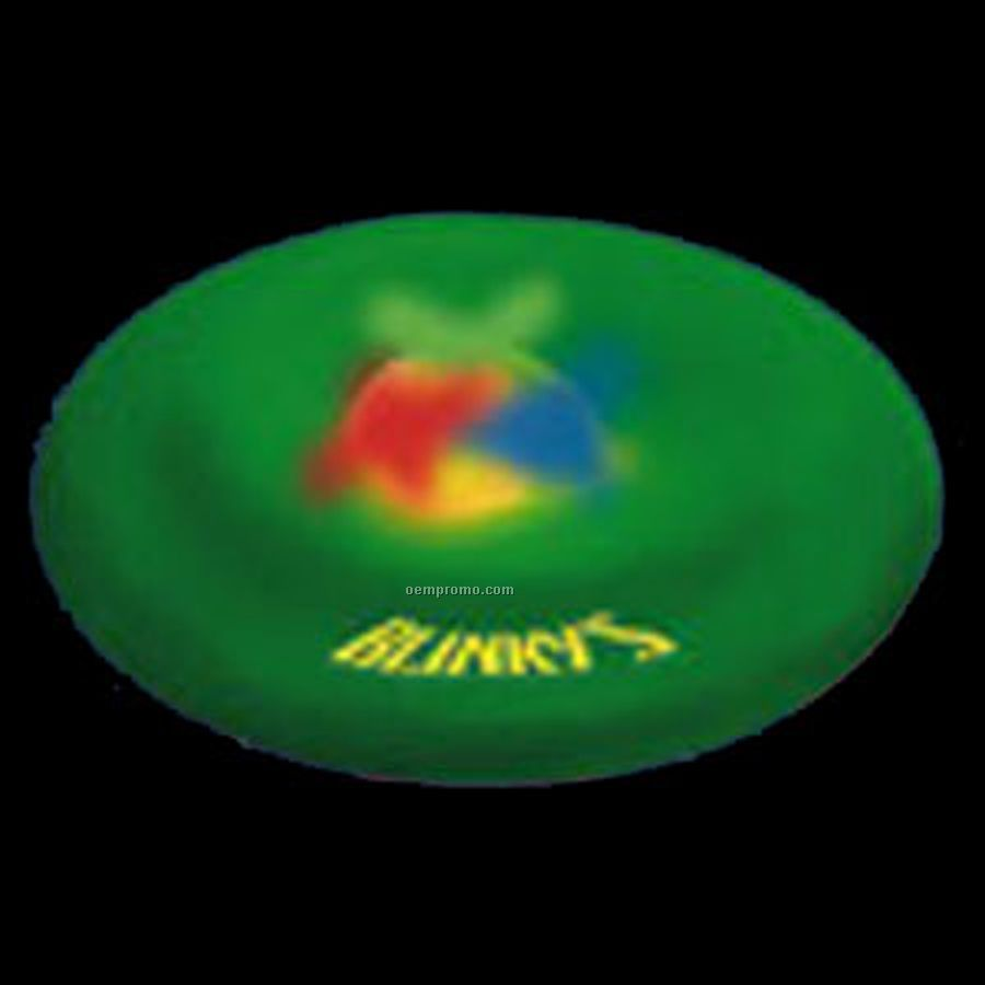 multi flying htm up led colored china light product lights frisbee b discs wholesale with blue