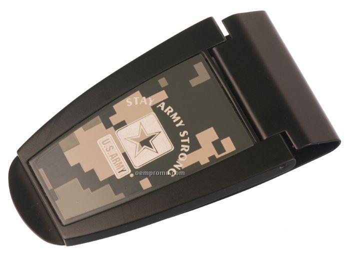 Infantry Money Clip W/ Digital Camo Pattern