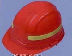 Ansi Retroreflective Strip For Safety Helmet - Lime Green