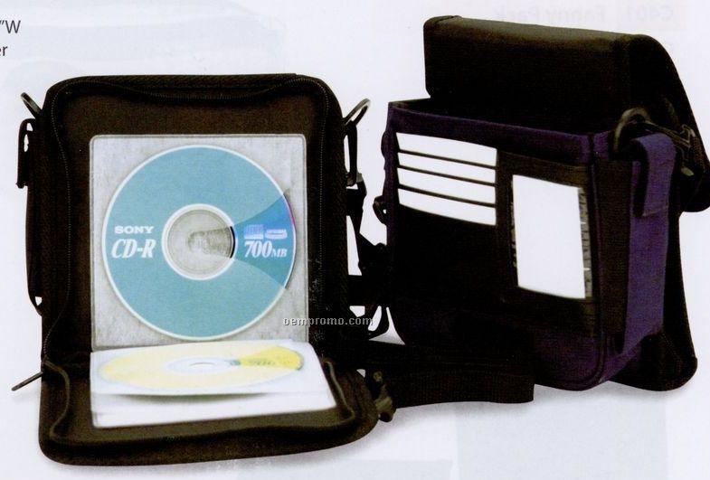 CD Player/ 12 CD Case