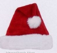 "Stock 5"" Holiday Plush Christmas Hat"