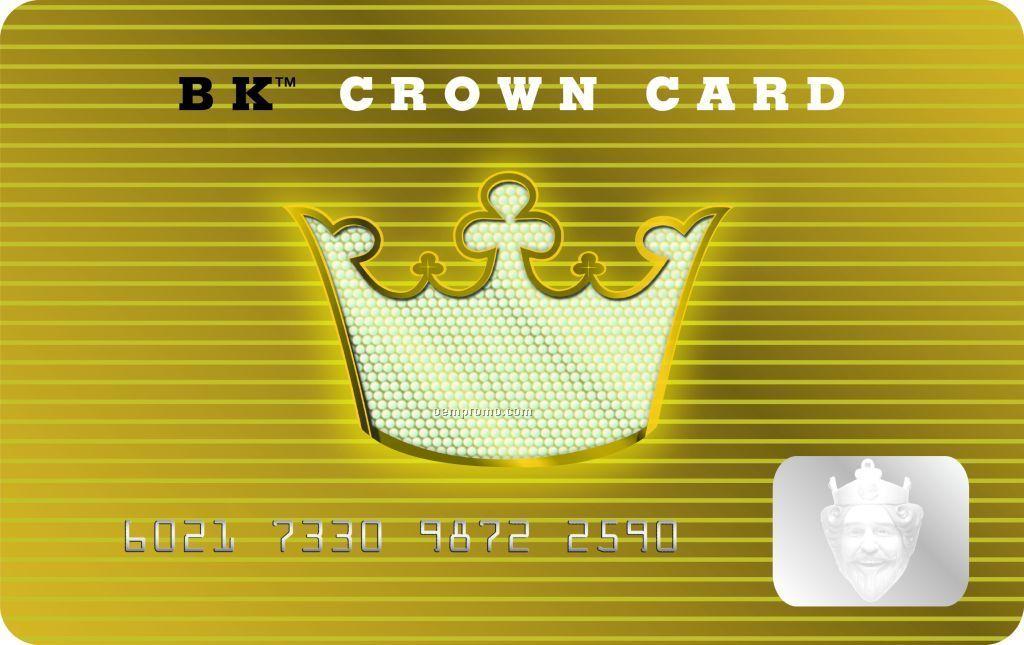 $5 Burger King Gift Card (Bk Crown Card)