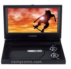 "9"" Portable Slim Line DVD Player With Remote Control"