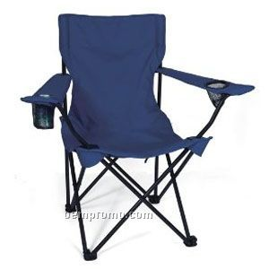 Folding Chair With Arm Rests U0026 Carrying Case