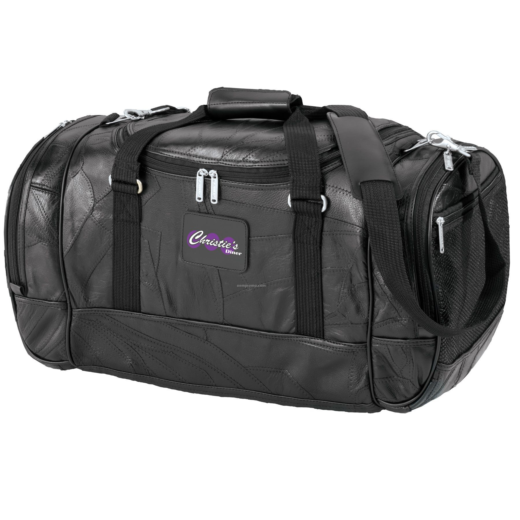 Legacy Leather Deluxe Travel Duffel Bag