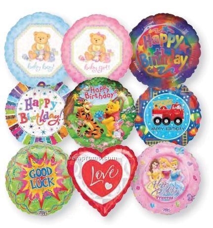 """9"""" Get Well Assortment Balloon (48 Ct)"""