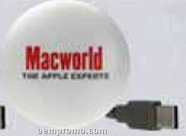 Round Illuminated 64 Mb Website Button W/ Cord