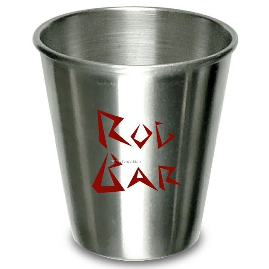 1-1/2 Oz. Stainless Steel Shot Glass