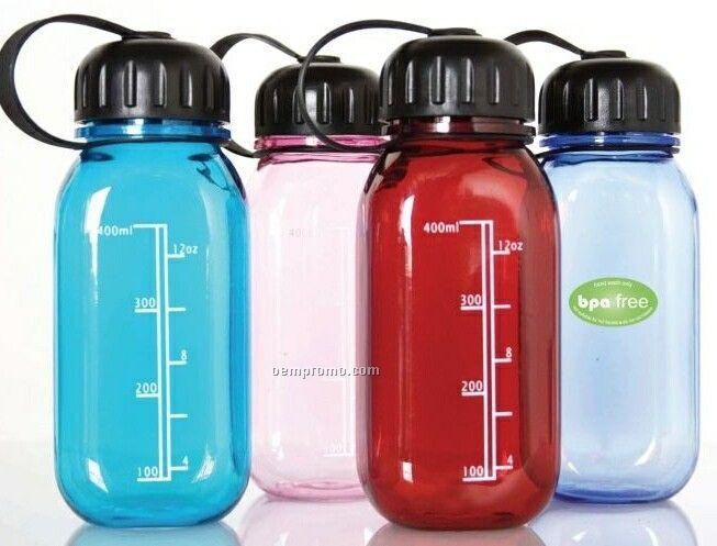 12 Oz. Bpa Free Reusable Water Bottle