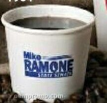 4 Oz. White Paper Cup (Screen Printing)