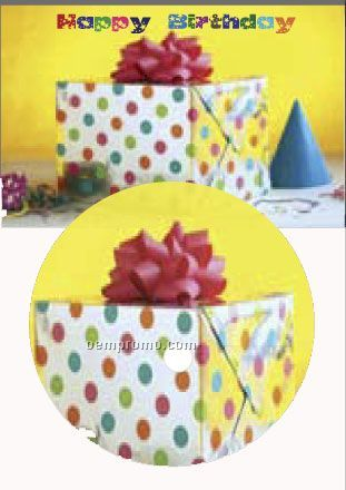 Party Birthday Greeting Card With Matching CD