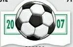 Soccer Sports Schedule Magnet