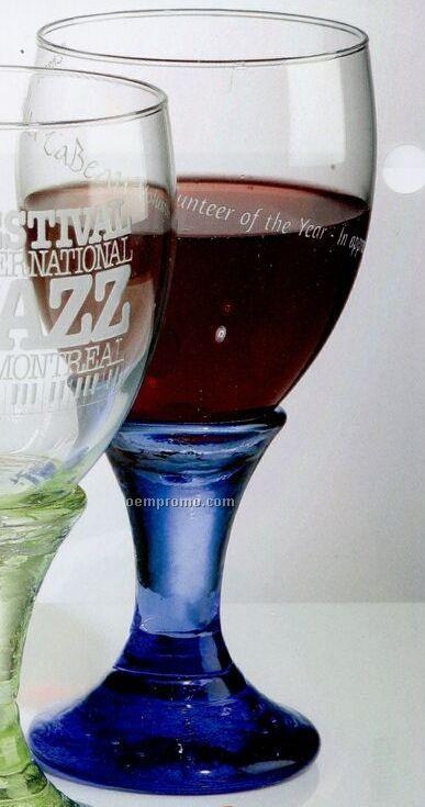 12 Oz. Cobalt Goblet Glass