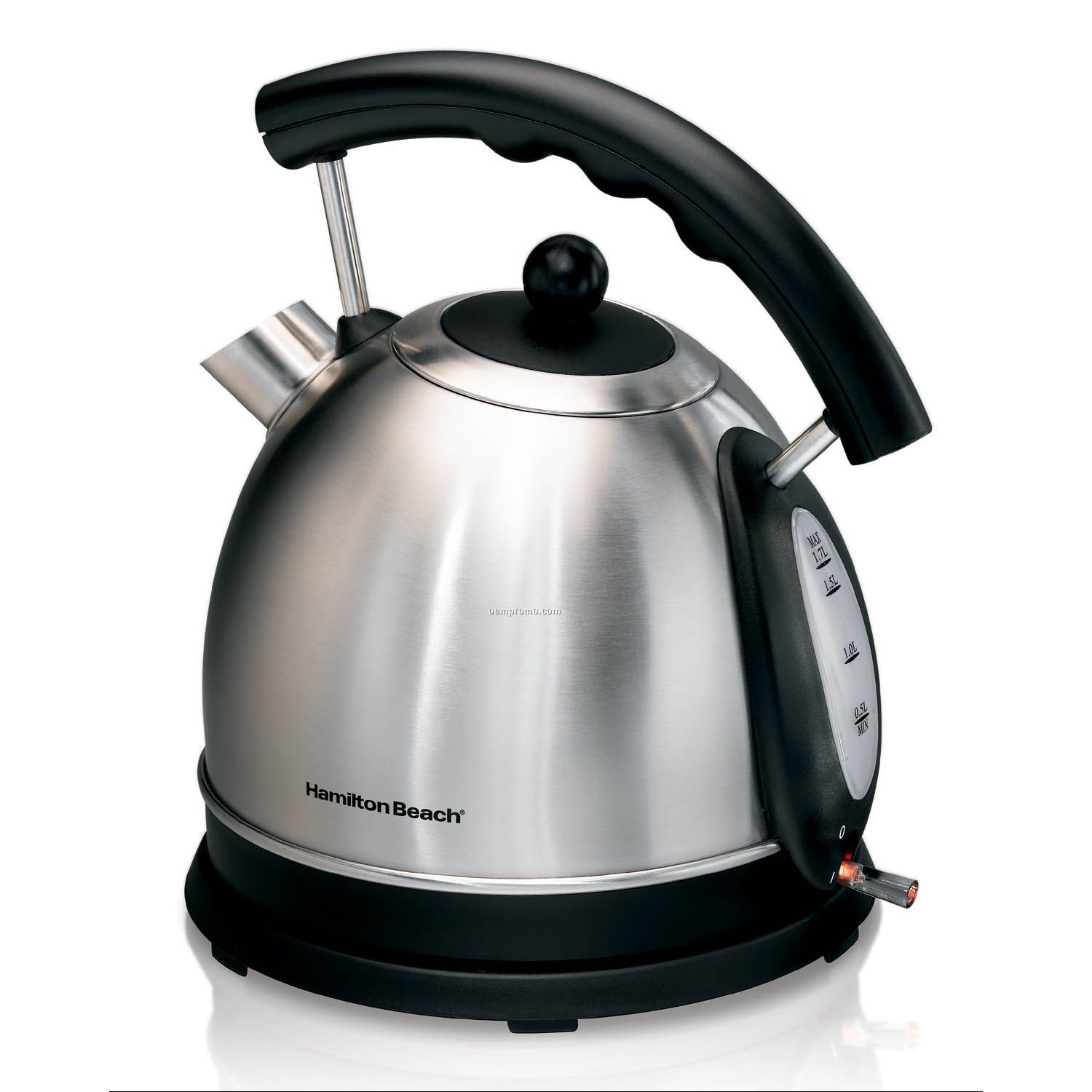 Stainless Electric Kettle ~ Hamilton beach cup stainless steel electric kettle