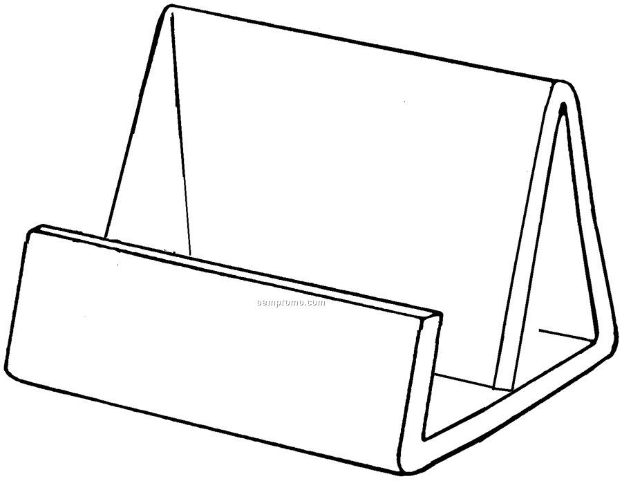 Horizontal Business Card Holder (3 1/2\