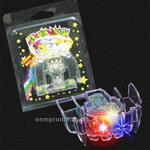 Light Up Flashing LED Fangs