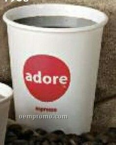 8 Oz. White Paper Cup (Screen Printing)