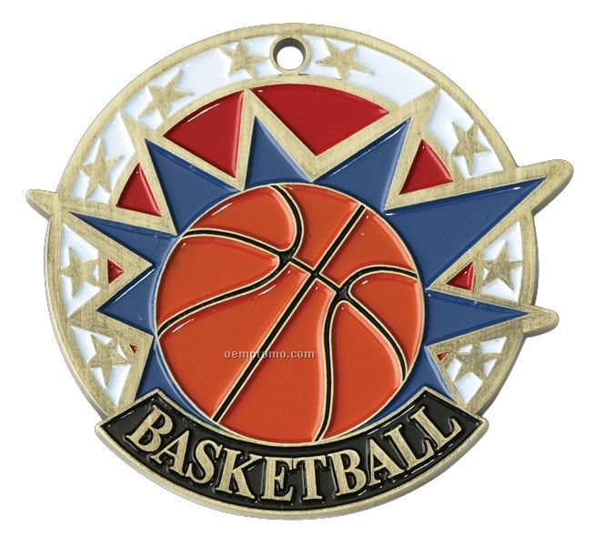 """Medals, """"Basketball"""" - 2"""" Usa Sports Medals"""