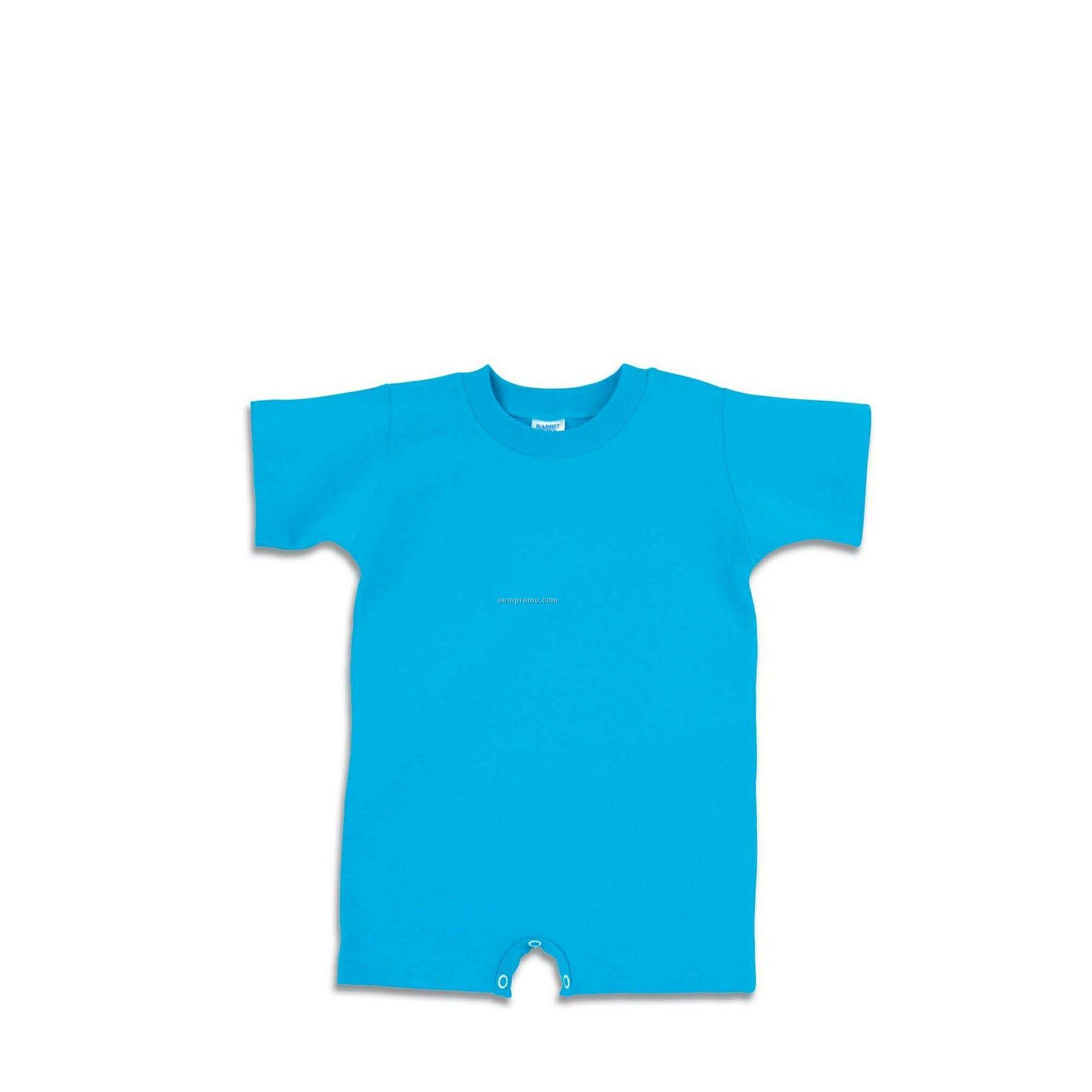 White Infant Jersey T-romper