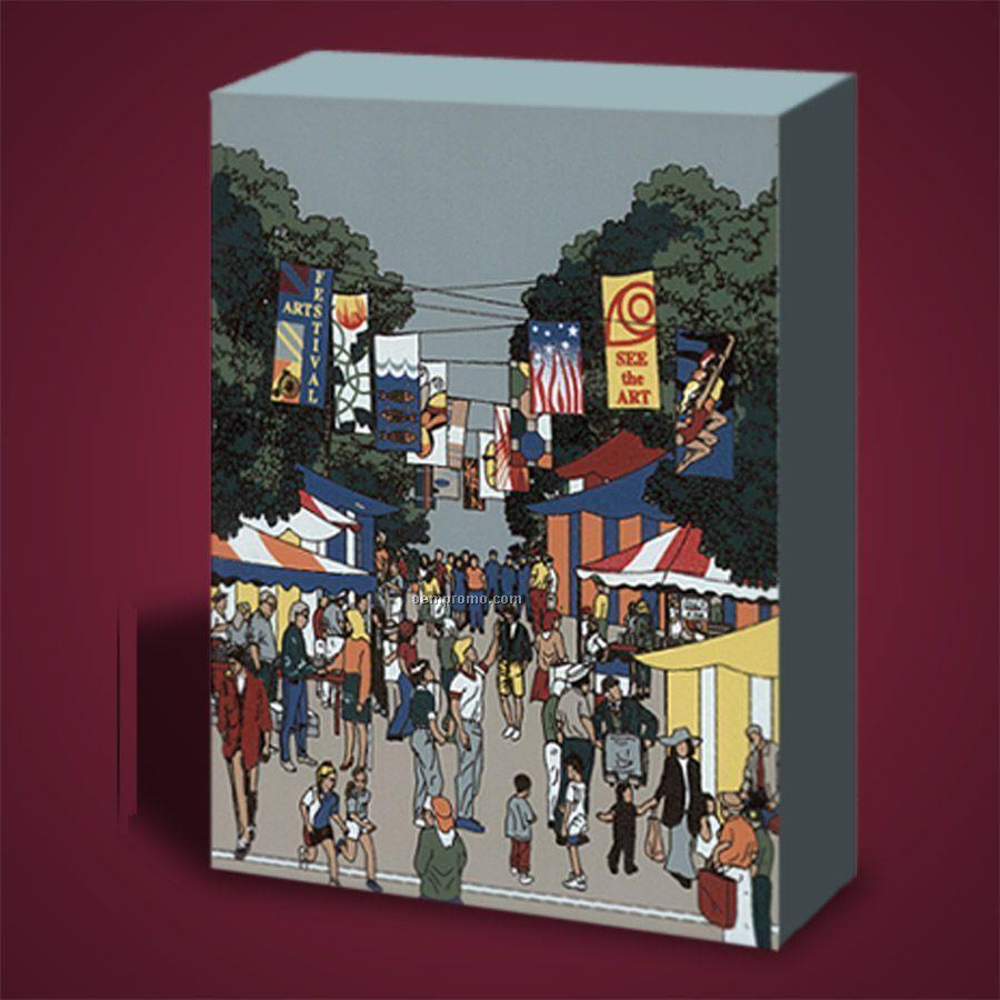 10 Square Inch Fairs Wooden Replica