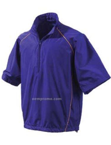 Men's Links Short Sleeve Windshirt