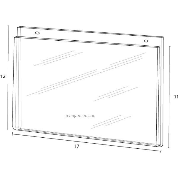 Wall Frame For 17'' W X 11'' H W/Holes