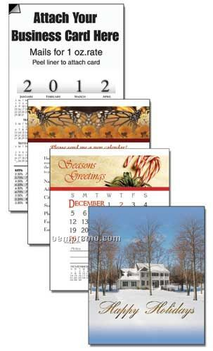 2011 Holiday House Cover 13 Month Multi-purpose Calendar