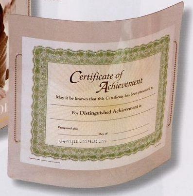 "Certificate Size Flex Frame W/Solid Back (8-1/2""X12-1/2"")"
