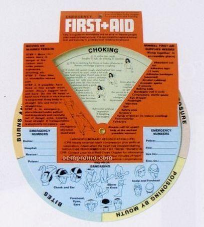 Health Guide Wheel - Emergency First Aid