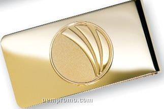 Money Clip In Gold Or Silver Tone