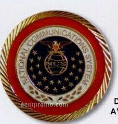 "1-1/4"" Die Struck Medal/ Coin (1.4 Mm)"