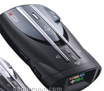 15-band Maximum Performance Radar/Laser Detector W/ Low Battery Warning